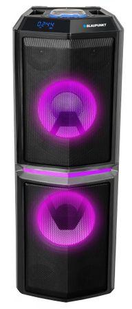 BLAUPUNKT PS10DB, BT, Karaoke, LED, Hordozható Bluetooth hangszóró