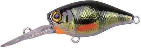Spro Wobler Mini Crank LL Pomaly Plávajúci Chrome Green Perch 3,8 cm 3,8 g