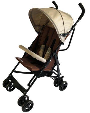 BOMIMI otroški voziček Bayo, Brown, rjav