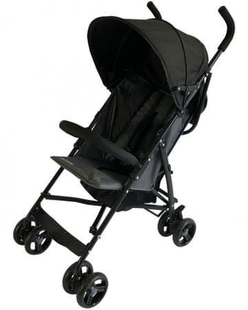 BOMIMI otroški voziček Bayo, Grey, siv