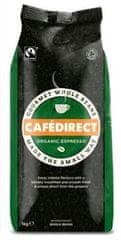 Cafédirect BIO Espresso zrnková káva 1kg