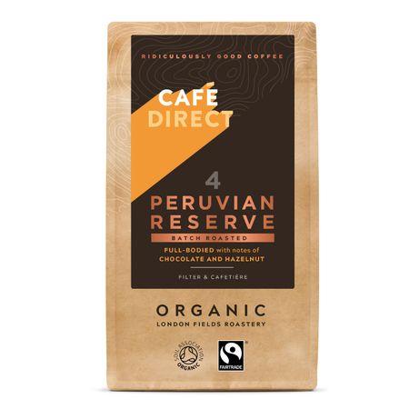 Cafédirect BIO Peru Reserve mletá káva 227g