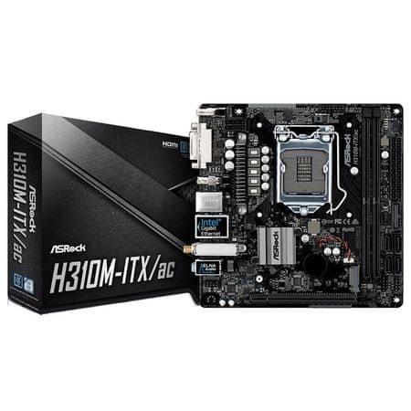 ASRock osnovna plošča H310M-ITX/AC Mini-ITX