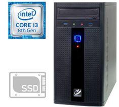 mimovrste=) namizni računalnik i3-8100/8GB/256GB/GTX1050/FreeDOS (PC-G2835-M)