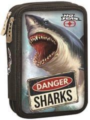 GIM Dvojposchodový plnený peračník No Fear shark