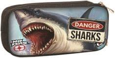 GIM Oválne puzdro No Fear shark