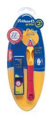 Pelikan olovka za ljevake Griffix 2, crvena