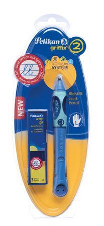 Pelikan Tužka pro leváky Griffix 2 modrá