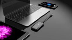 MAX hub USB MUH4301C, czarny