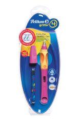 Pelikan Bombičkové pero pro praváky Griffix 4 růžové
