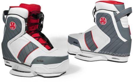 Mofour čevlji za wakeboard Edition Red, rdeči, 8-9