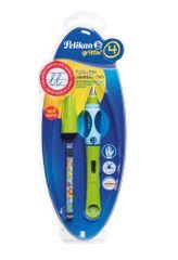 Pelikan Bombičkové pero pro leváky Griffix 4 zelené