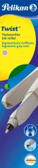 Pelikan pióro kulkowe Twist Classic, jasnoszare