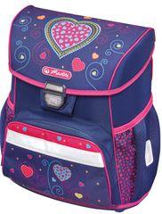 Herlitz plecak szkolny Loop serce, niebieski