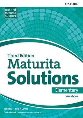 Falla Tim, Davies Paul A.: Maturita Solutions 3rd Edition Elementary Workbook Czech Edition