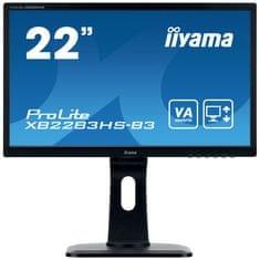 iiyama Iiyama ProLite LED monitor, FHD, 54,7 cm, VA, z zvočniki (XB2283HS-B3)