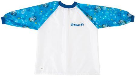 Pelikan pregača s rukavima za dječake Pelikan, plava