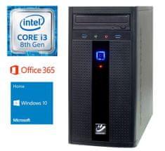 mimovrste=) namizni računalnik i3-8100/4GB/SSD240GB/Win10Home (PC-G283W365-M)