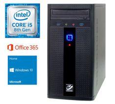 mimovrste=) namizni računalnik i5-8400/8GB/SSD240GB/Win10Home (PC-G285W365-M)