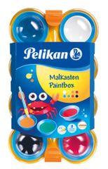 Pelikan Vodové farby Pelikan 8 farieb, detské