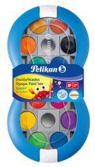 Pelikan Vodové barvy Space+ 12 barev, modré