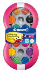 Pelikan Vodové barvy Space+ 12 barev, růžové