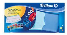 Pelikan Vodové farby ProColor 12 farieb, v modrej krabičke