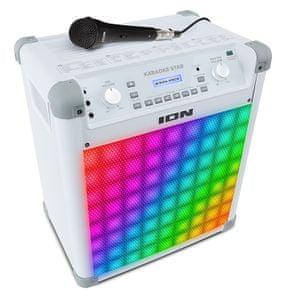 přenosný bluetooth reproduktor ION Karaoke Star 60 zvukových efektů youtube