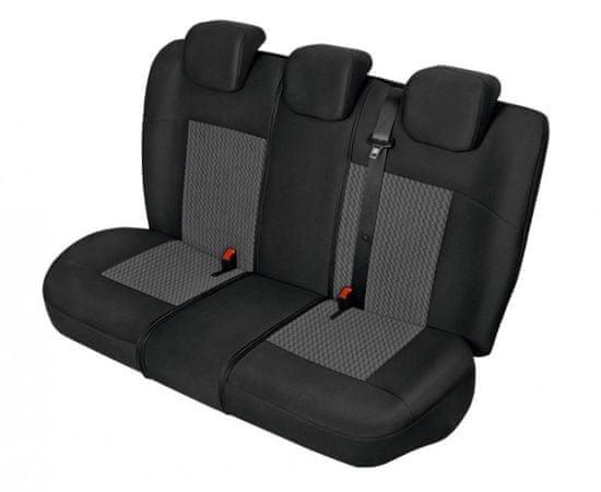 KEGEL Poťah na zadné sedadlá PERUN Super L-XL LUX, farba sivá