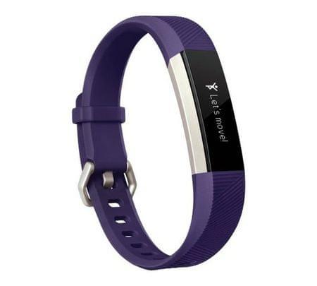 Fitbit aktivna zapestnica Ace, vijolična/nerjaveče jeklo