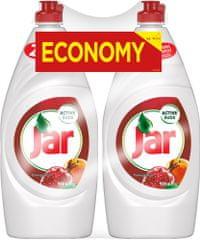 Jar detergent za pomivanje posode, Pomegranate, granatno jabolko, 2x900 ml