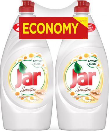 Jar prostriedok na riad Chamomile 2 x 900 ml