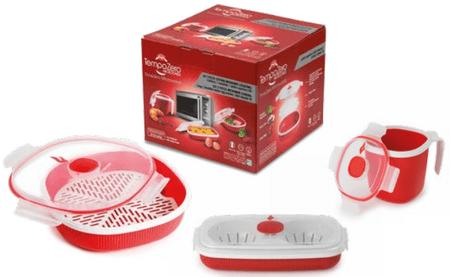 Snips Ajándékcsomag főzéshez a mikrohullámú sütőben, 3 db