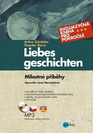 Schnitzler Arthur: Milostné příběhy / Liebesgeschichten + CDmp3