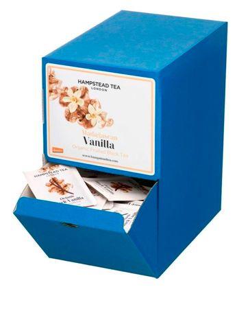 Hampstead Tea London BIO fekete tea madagaszkári vaníliával 250db