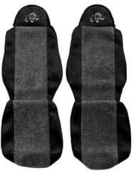 F-CORE Poťahy na sedadlá PS05, sivá