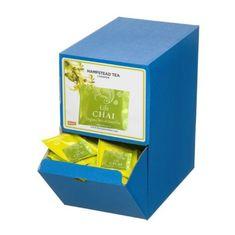 Hampstead Tea London BIO Chai zelený detoxikační čaj s orientálním kořením 250ks