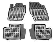 REZAW-PLAST Gumové koberce, súprava 4 ks (2x predné, 2x zadné), Citroen C4 I Hatchback 2004-2010, C4 II od r. 2011; Peugeot 307 2001-2007