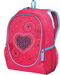 Herlitz plecak przedszkolny Rookie - Różowe serce