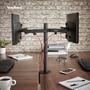 """3 - VonHaus dvojni namizni nosilec za dva monitorja do diagonale 68,58 cm (27"""") (05/116)"""