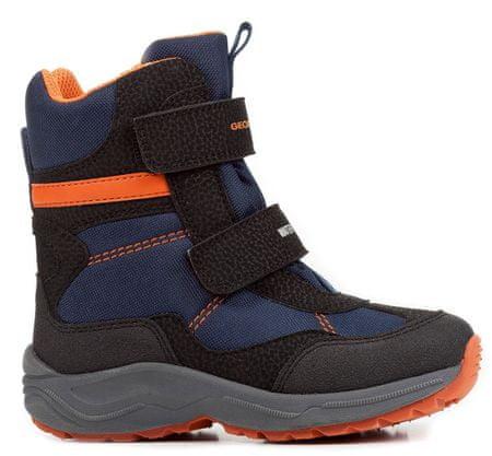 ogromna zniżka sprawdzić buty do biegania Geox buty zimowe za kostkę chłopięce New Alaska 24 czarny/niebieski