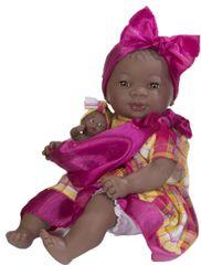 Nines lalka dziewczynki z dzieckiem 45 cm