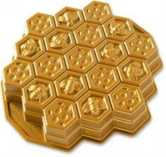 NordicWare Forma včelí plást zlatá