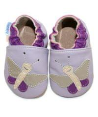 baBice dievčenské capačky s motýlikmi