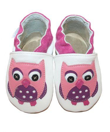 baBice cipele za djevojke sa sovom, 16,5, bijele