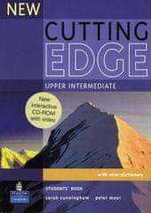 Cunningham Sarah: New Cutting Edge Upper Intermediate Students´ Book w/ CD-ROM Pack