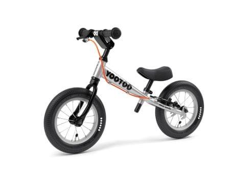 Yedoo YooToo pedál nélküli gyerekkerékpár Black