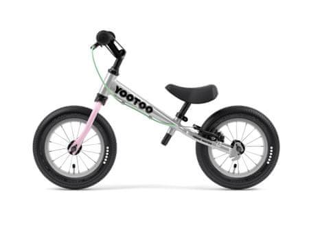 Yedoo YooToo pedál nélküli gyerekkerékpár Candypink
