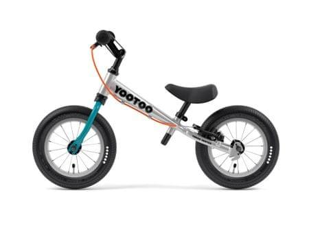 Yedoo YooToo pedál nélküli gyerekkerékpár Tealblue