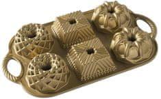 Nordic Ware Minibábovky plát se 6 formičkami zlatá